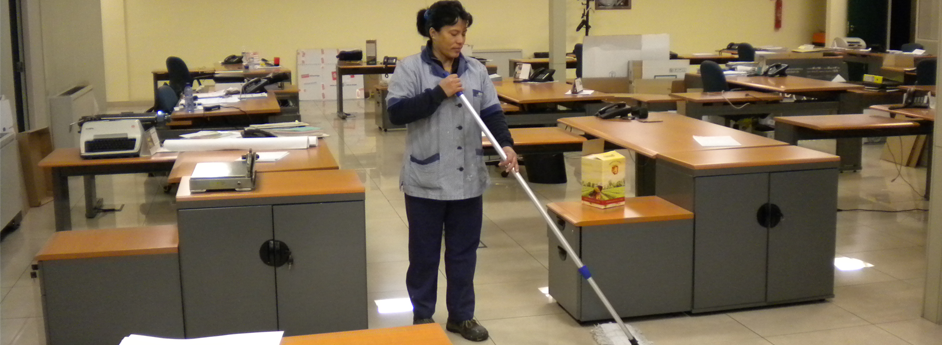 limpieza de mantenimiento de oficinas y edificios