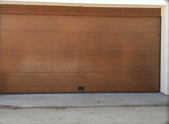 Puertas cocheras