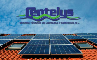 Servicio de limpieza de placas solares
